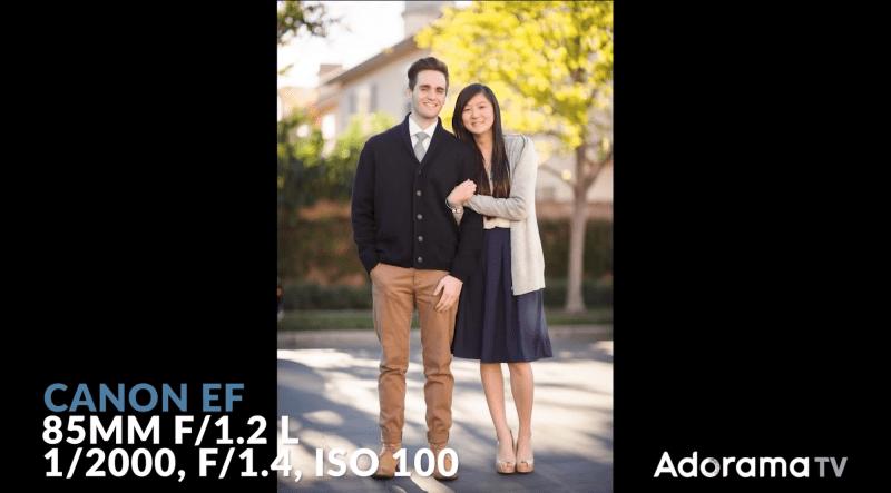 85 мм широко открытая диафрагма используется для фотографирования друзей на улице